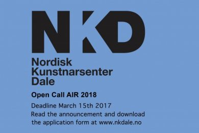 Norway   Nordic Artists Centre Dale residency call