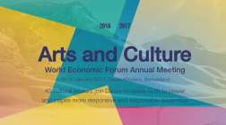 Arts and Culture at the World Economic Forum Davos