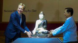 Norway Returns Antique Buddha Sculpture to Myanmar