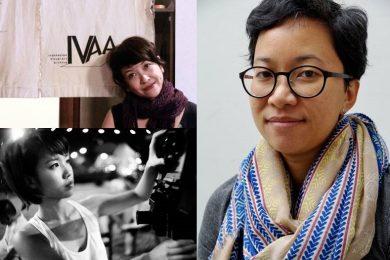 Top left: Farah Wardani Bottom left: Samantha Tio Right side: