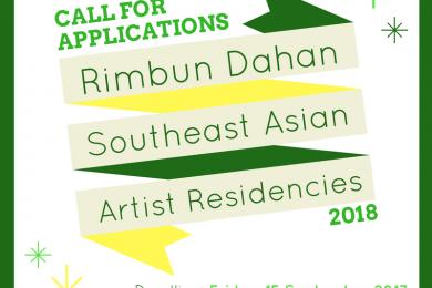 Rimbun Dahan Southeast Asian Arts Residencies call