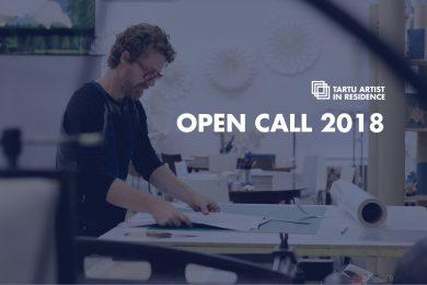 Estonia | Tartu Artist in Residence - open call for 2018